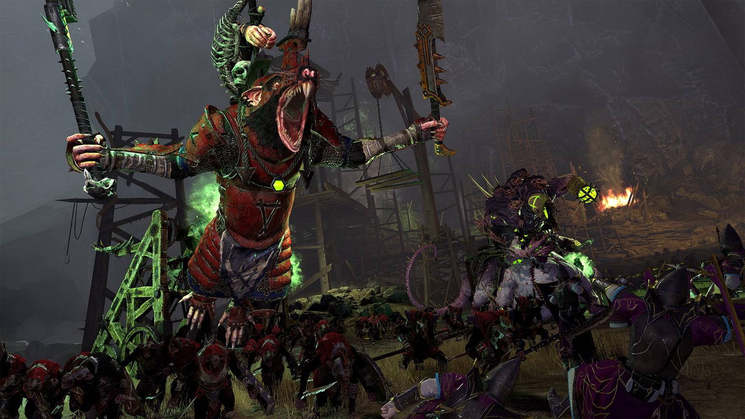 Los Skaven se presentan como cuarta raza jugable de Total War Warhammer II