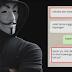 Ada Bukti Chat Mesum, Anonymous Ancam Bongkar Perselingkuhan Sandiaga Uno dengan Artis MZ