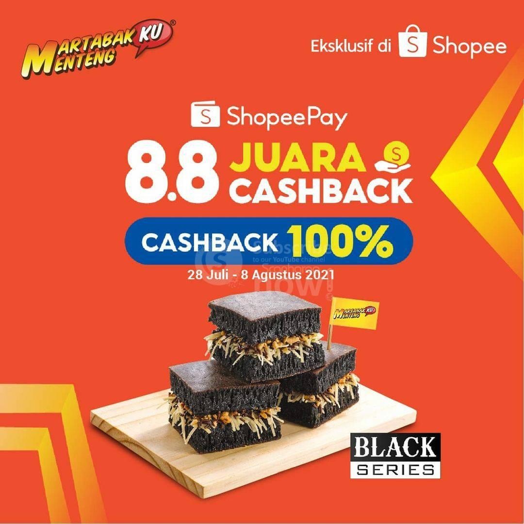 Martabakku Menteng Promo Voucher ShopeePay Cashback 100%