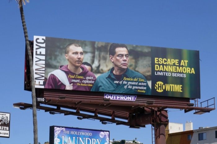 Escape at Dannemora 2019 Emmy FYC billboard
