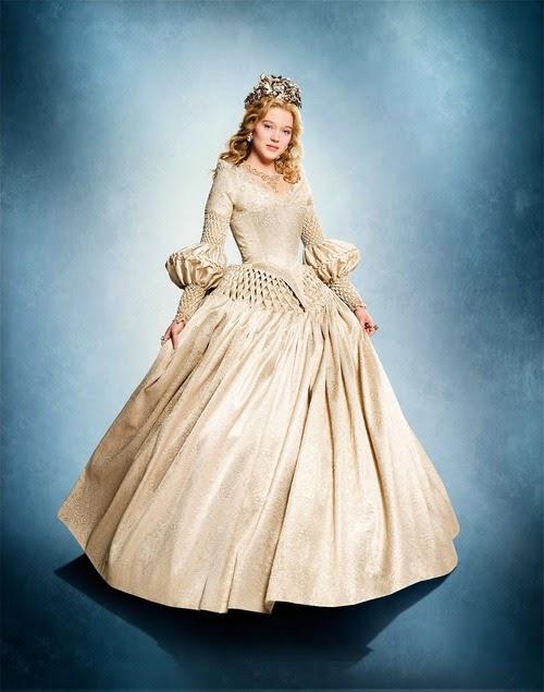 Figurino A Bela e Fera 2014, La Belle et la Bette vestido branco