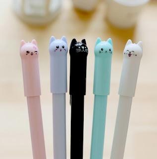 ручка в виде котика