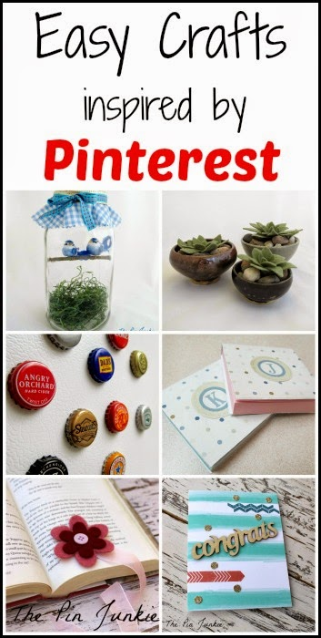 Easy Crafts Inspired by Pinterest