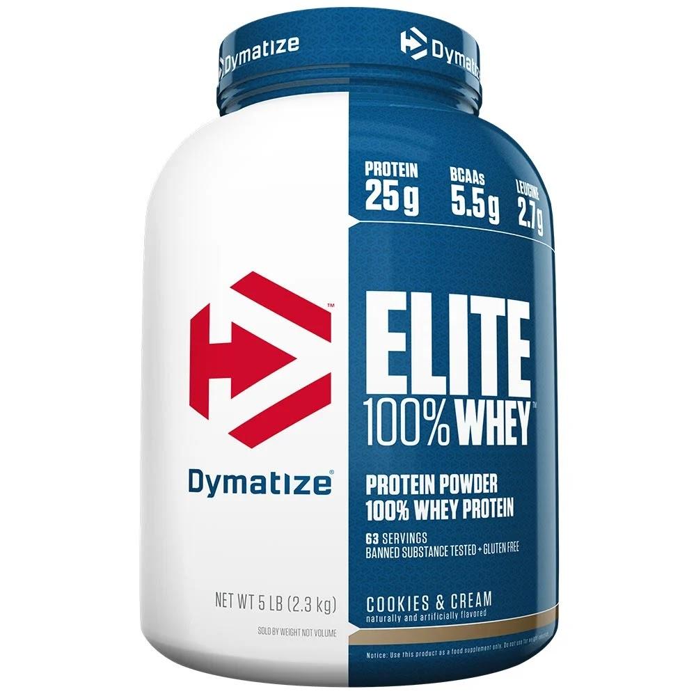 Dymatize Elite 100% Whey Protein, 5 lb