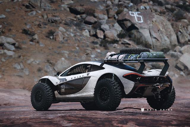 2017 McLaren Baja Truck Design Study - #McLaren #Baja #Truck #Design #tuning #cars #supercar