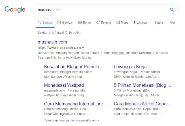 Sitelink masnasih.com