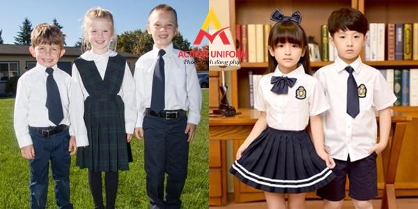 Mẫu đồng phục tiểu học 27