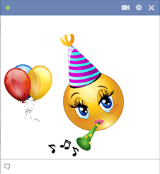Celebration Emoticon