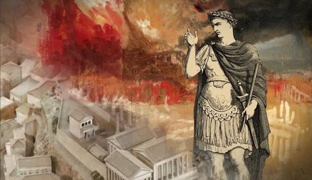 Kaisar Nero, Membakar Ibu Kota Kerajaanya Sendiri