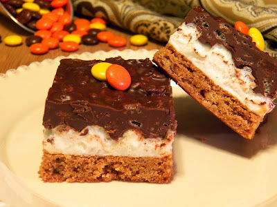 Deluxe Peanut Butter Chocolate and Mallow Bars