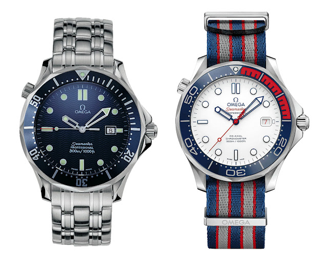Réplicas De Relojes Omega Seamaster Diver 300M Original 007