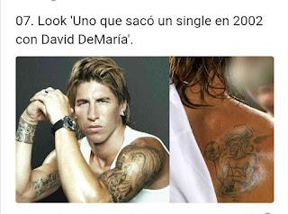 Sergio Ramos look David de María