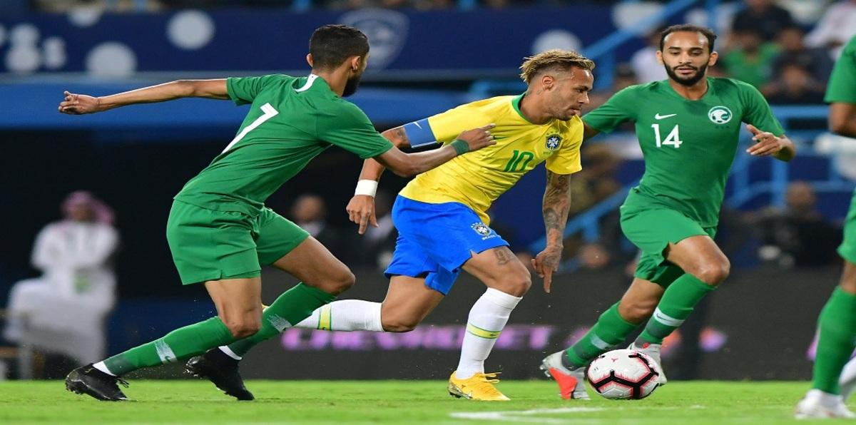 مباراة السعودية والبرازيل اليوم