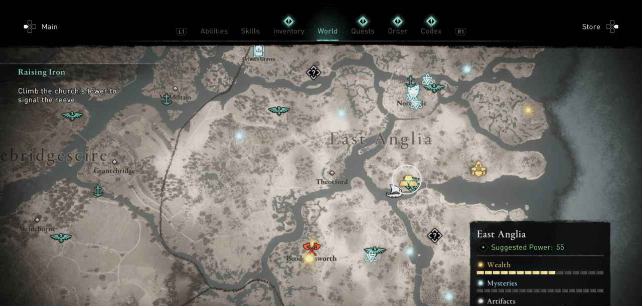Ingot 38 Map