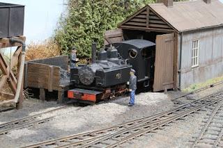 Charmouth Uckfield model railway exhibition