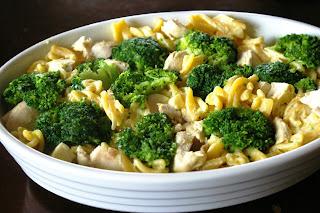 zapiekanka brokułowo-kurczakowa