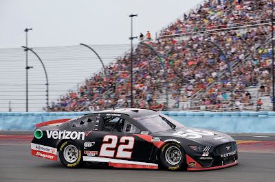 """""""Indianapolis Motor Speedway has always been a crown jewel in our sport. . . """" Joey Logano #22"""