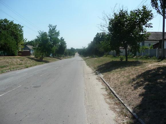 Васильківка. Вулиця Соборна