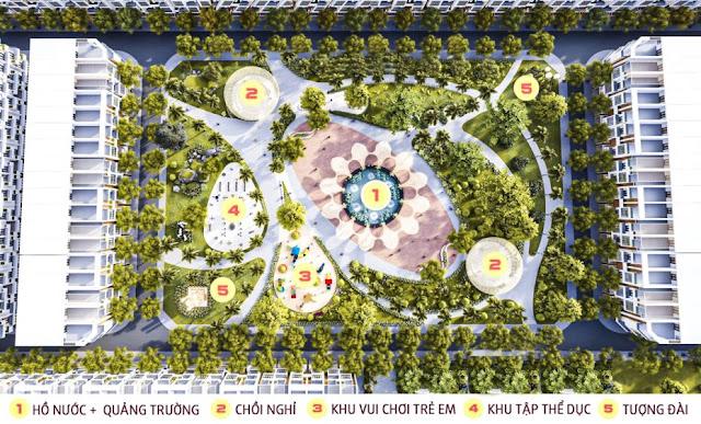 Khởi công xây dựng công viên quy mô lớn tại KDC Minh Châu - Vạn Phát Avenue