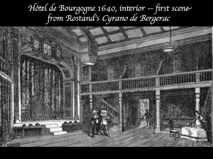 The particular Eighteenth 100 years theatre