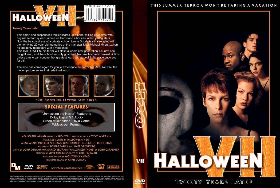 custom dvd covers - Halloween H20 Theme