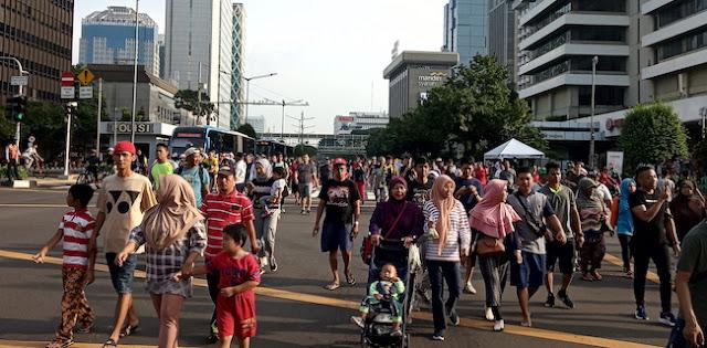 Ini Lokasi Car Free Day Di Jakarta Selatan