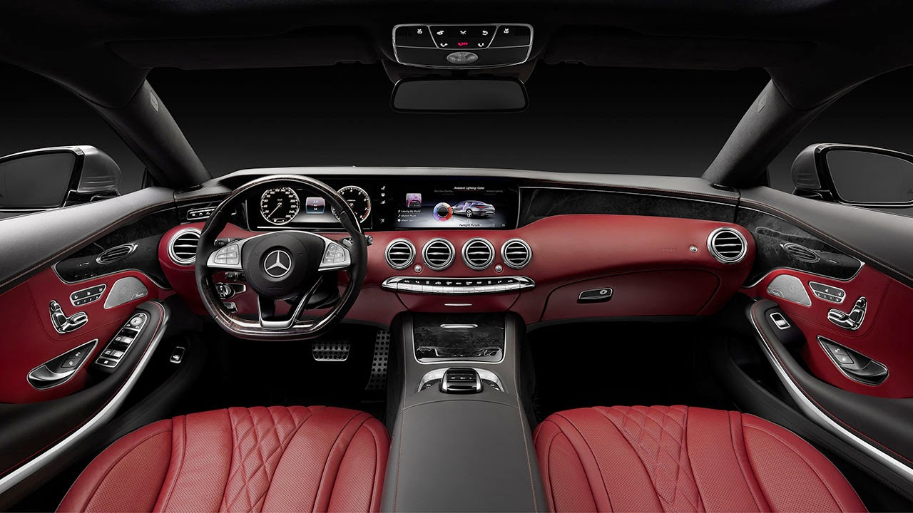 Mercedes-Benz S-Class Coupé dash