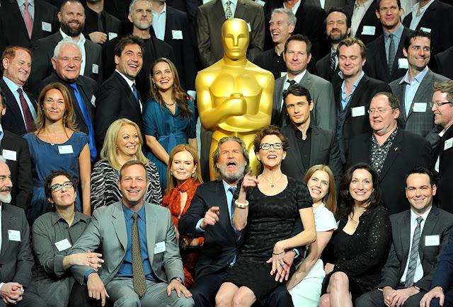 "Кинозвезды на церемонии ""Оскар"""