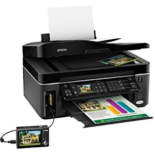 Epson WorkForce 610 Wireless Color Inkjet All-in-One Printer