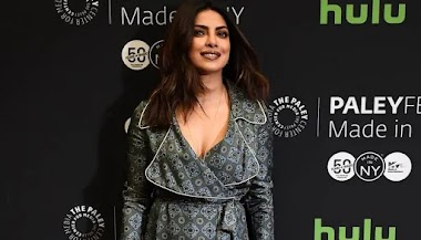 Beautiful Indian Model Priyanka Chopra Quantico at The Paley Center For Media