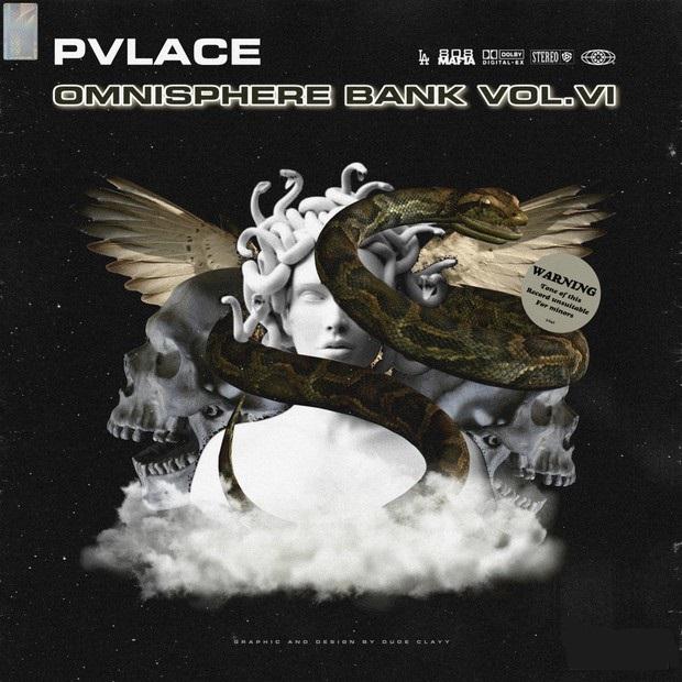 PVLACE 808 MAFIA Omnisphere Bank Vol 6 WAV - LEGION MUZIK