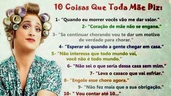 Diário De Mãe 10 Frases Que Todas As Mães Falam