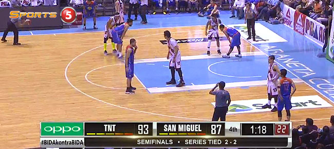 TNT def. San Miguel, 101-94 (REPLAY VIDEO) Semis Game 5 / February 16