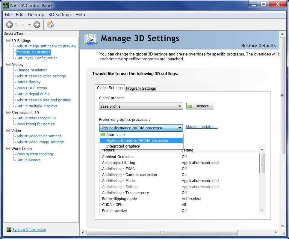 Fix Vulan 10 crash with the NVIDIA Control Panel | Mining