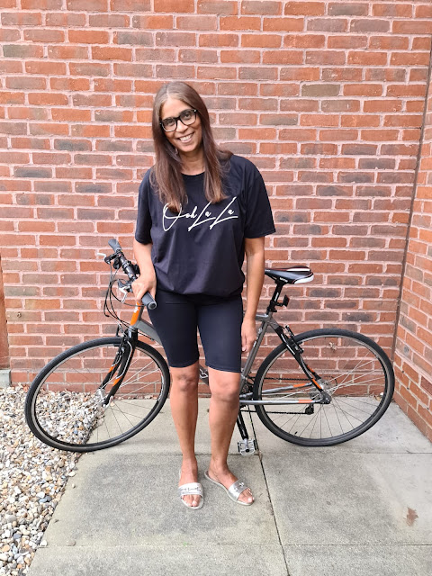 Black Cycling Shorts Addie