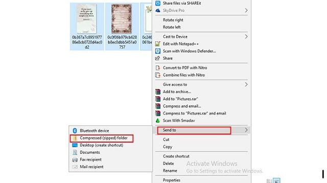 Cara Zip File di Laptop