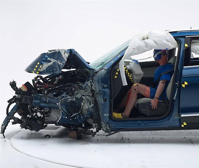 VW Tiguan ganha Top Safety Pick + no IIHS dos EUA