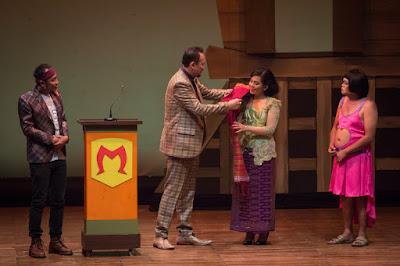 Pertunjukan teater Preman Parlente