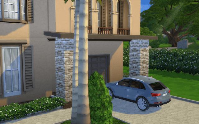 maison avec garage sims 4