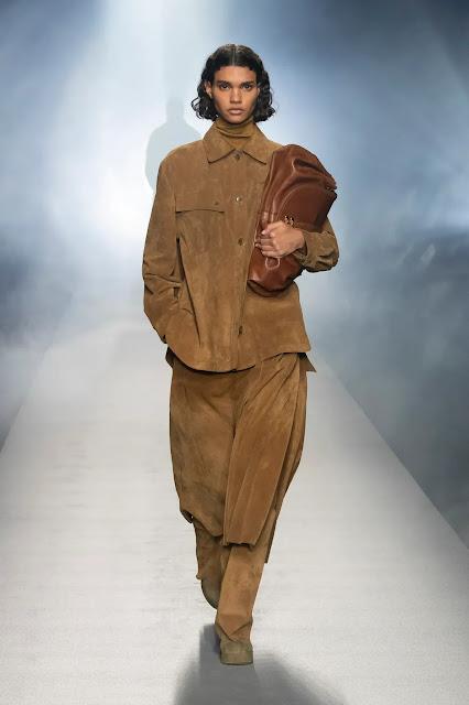 Alberta Ferretti Fall Winter 2021 at Milan Fashion Week by Kelly Fountain New York Fashion Blogger