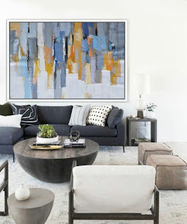 Contemporary Oil Painting Wall Art