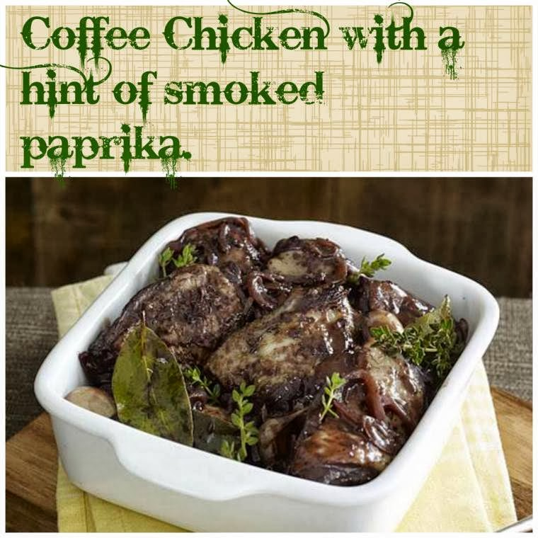 Coffee Chicken With A Hint of Smoked Paprika Recipe