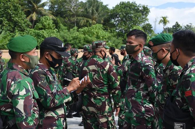 Personel Satuan BKO Kodim Persiapan Kodam XVIII/Kasuari Gelombang III/2020 Mulai Berdatangan