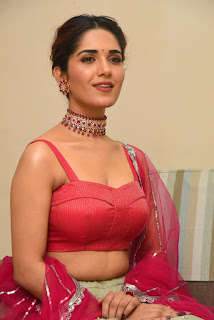 Ruhani Sharma at Hit Movie Pre Release Event Photos