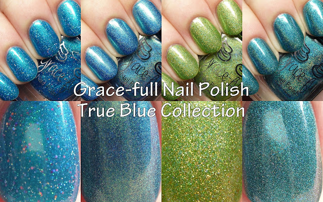 Grace-full Nail Polish Barrier Reef Coral inspiration