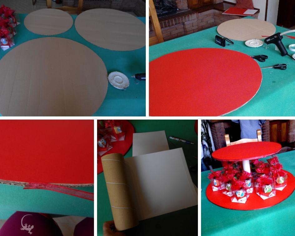 Come fare un'alzatina per sistemare le bomboniere / Cartolelya