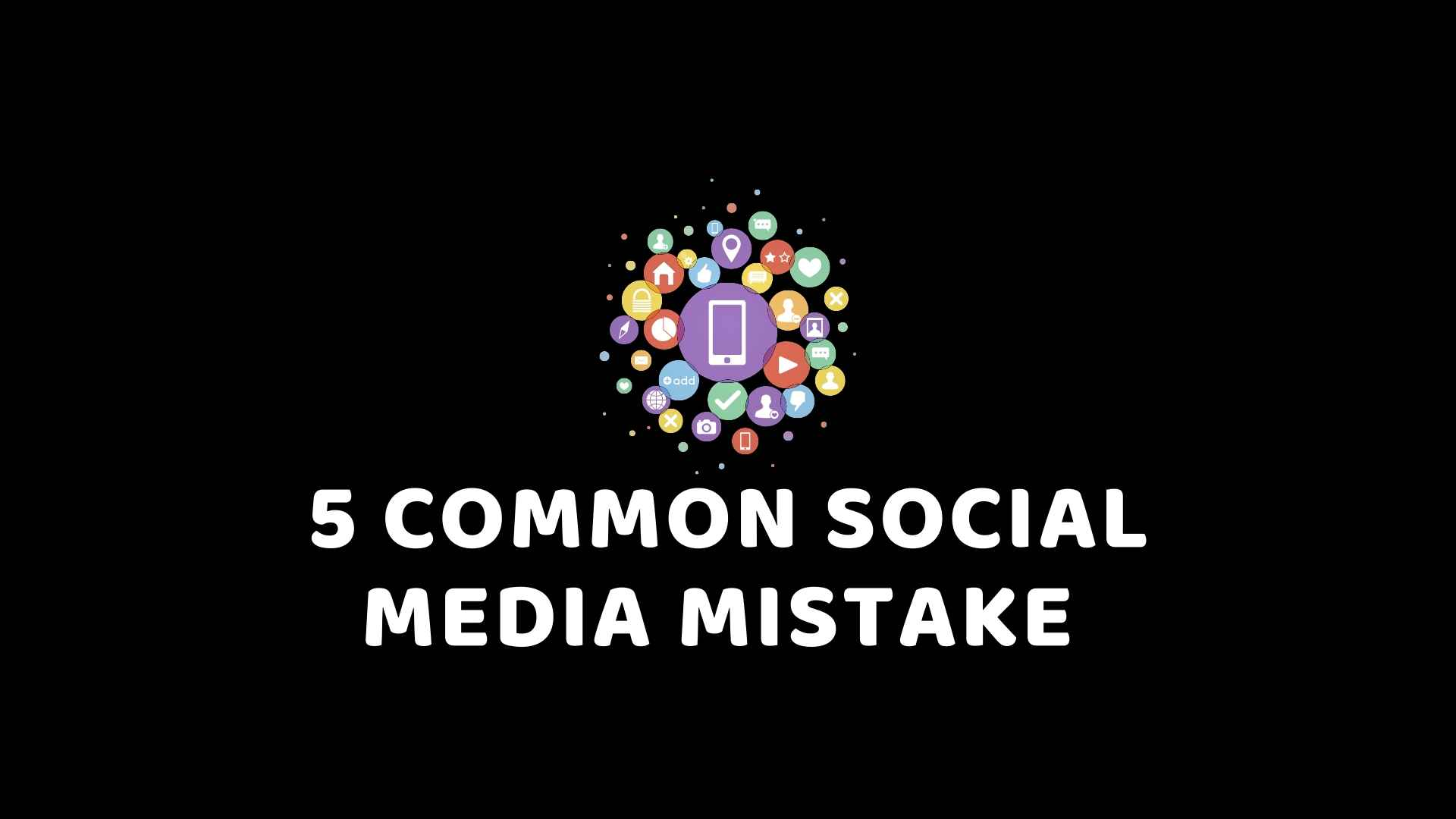 5 common social media mistake