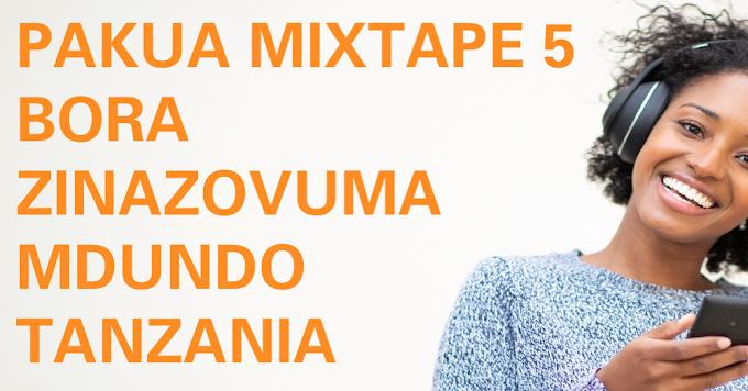 Mdundo Top 5 Trending DJ Mixes