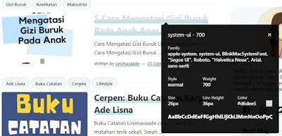 ekstensi Google Chrome Blogger