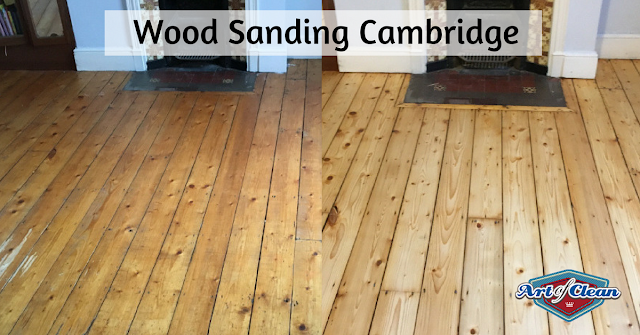 Pine floor sanding Cambridge